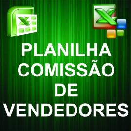 Planilha Comissão de Vendedores