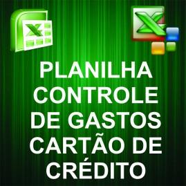 Planilha Controle de Gastos Pessoais com Cartões de Crédito