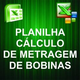 Planilha para Cálculo de Metragem de Bobinas