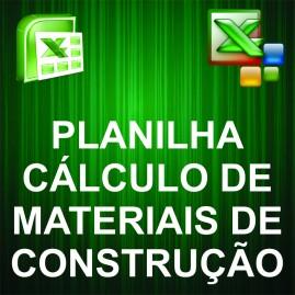 Planilha para Cálculo de Materiais de Construção