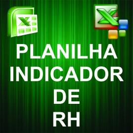 Planilha Indicadores de RH / Absenteismo e Turnover