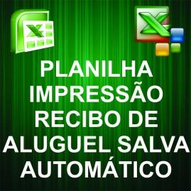 Impressão de Recibo de Aluguel / Planilha com Base de Dados